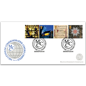2000 Spirit & Faith - Millennium Covers - Birmingham Handstamp