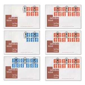 2001 Booklets (Jan). 5 Jim Bond specials. Big Ben SW1 h/s