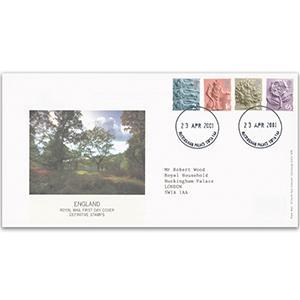 2001 English Regionals - Buckingham Palace CDS