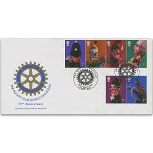 2001 Puppets - East Grinstead Rotary Handstamp