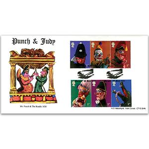 2001 Puppets Macintyre Official - Margate Handstamp
