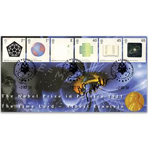 2001 Nobel Prizes Scott Official - Signed Edgar Mitchell