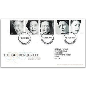 2002 HM The Queen's Golden Jubilee - Buckingham Palace CDS