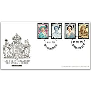 2002 Queen Mother Buckingham Palace CDS