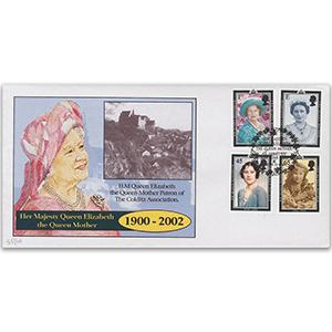 2002 Queen Mother - Windsor Handstamp - Colditz Association