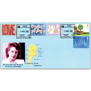2002 Occasions - Peter Payne Official - Jubilee Way SW19 handstamp