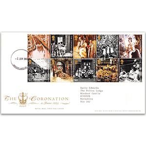 2003 Coronation - Windsor Castle counter date stamp