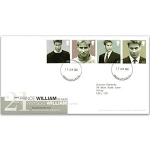 2003 Prince William - Windsor CDS - Typed Address