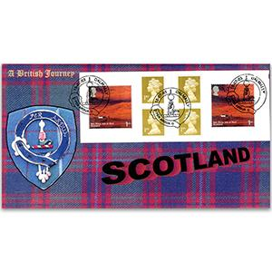 2003 Scotland NVI Booklet - Macintyre Official - Dalmally Handstamp