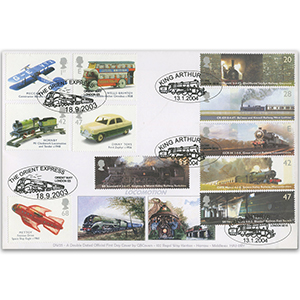 2003 Transports & 2004 Railways  GBFDC double