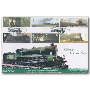 2004 Classic Locomotives stps GBFDC Official