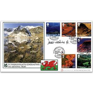 2004 Wales - Apel Eryi Snowdonia Appeal - Signed by Tasker Watkins