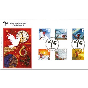 2004 Xmas (Stamps) Sheridan Official - Charity CC Handstamp