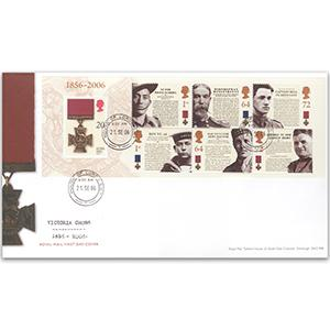 2006 Victoria Cross - House of Lords counter date stamp