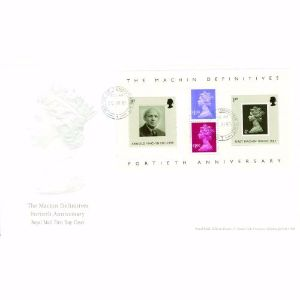 2007 Machin Definitives 40th M/S - House of Commons CDS