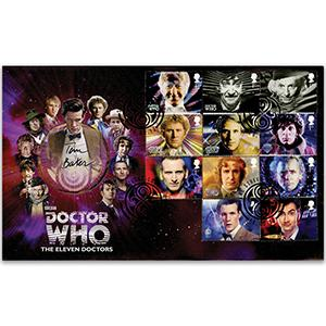 2013 Doctor Who 'The 11 Doctors' - Signed by Tom Baker