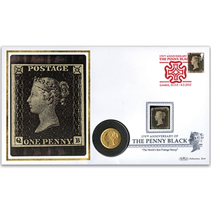 2015 175th Anniversary Penny Black Sovereign Cover