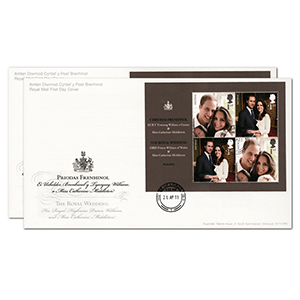 2011 Royal Wedding House of Commons on Royal Mail cover
