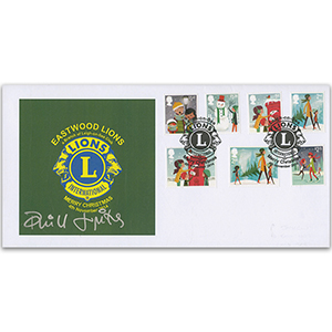 2014 Christmas. Eastwood Lions Official - Signed P. Jupitas