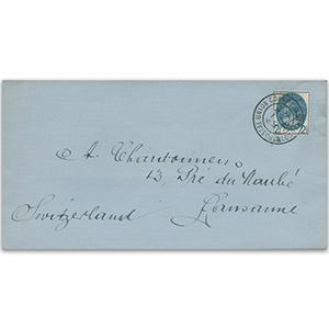 1929 Postal Union Congress 2½ d to Lausanne