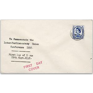 1957 Inter-Parliamentary Union Conference - Night Down Cancellation