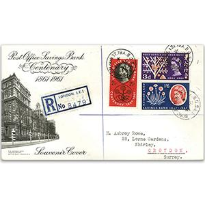 1961 Post Office Savings Bank -  Borough High St CDS