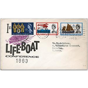 1963 Lifeboat Conference - London Special Slogan
