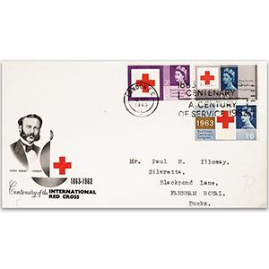 1963 Red Cross - London EC Slogan