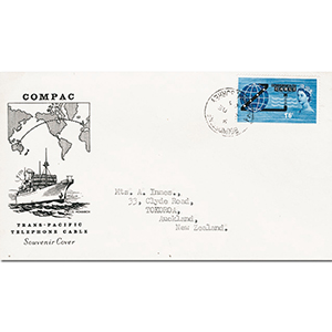 1963 Opening Compac Souvenir FDC
