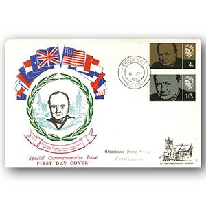 1965 Churchill - Oxford counter date stamp