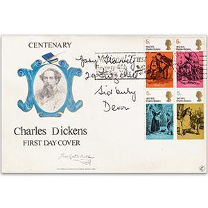 1970 Literary Anniversaries - Dickens - Exeter Slogan