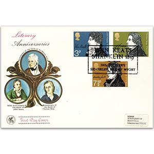 1971 Literary Anniversary - Shanklin Handstamp