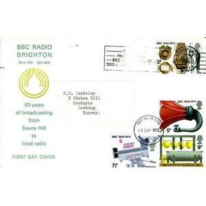 1972 Broadcasting Anniversary - BBC Radio Brighton Wave Slogan