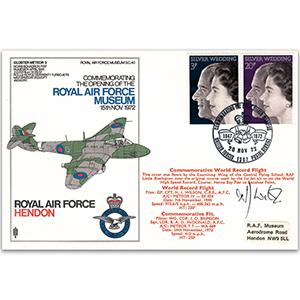 1972 Royal Silver Wedding/RAF Hendon BFPO 1307