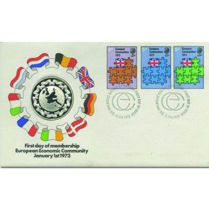 1973 EEC Silver Medallic Cover