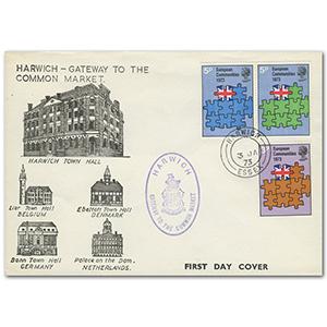 1973 E.E.C. Harwich cds