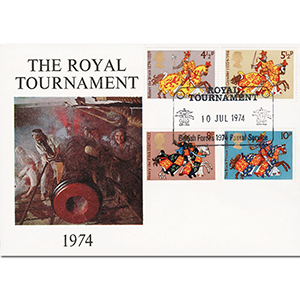 1974 Medieval Warriors - Royal Tournament Official