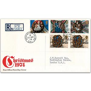 1974 Christmas P.O Buckingham Palace cds