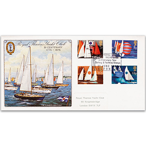 1975 Sailing - Royal Thames Yacht Club Handstamp