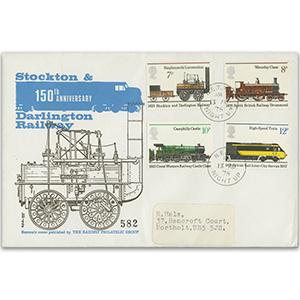 1975 Railways - N.E. TPO Night UP CDS