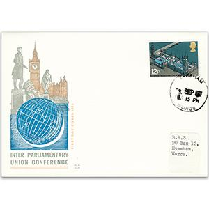 1975 Inter-Parliamentary Conference - Evesham, Worcstershire counter date stamp
