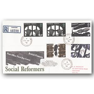 1976 Reformers - Pelton counter date stamp