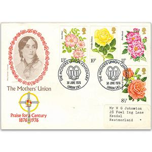 1976 Roses - London SW1 handstamp
