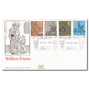 1976 Caxton - Stow-on-the-Wold handstamp