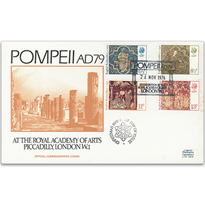 1976 Christmas - Pompeii at the Royal Academy of Arts, London