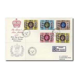 1977 Silver Jubilee - Queen's Parade, Cleethorpes counter date stamp