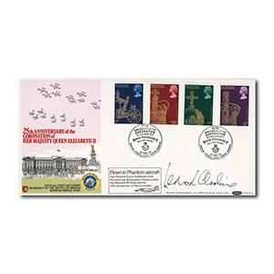 1978 Coronation - Benham B.O.C.S.3 - signed Cheshire - British Forces Postal Service 1953 handstamp
