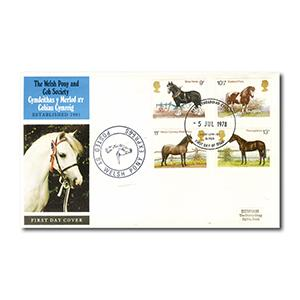 1978 Horses - Welsh Pony & Cob Society - Pony/ Express Cachet