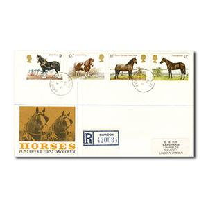 1978 Horses - Badminton counter date stamp