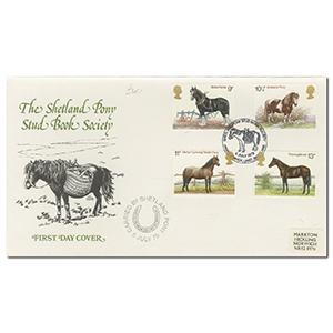 1978 Horses Shetland Pony Stud Book Official- SPS H/S